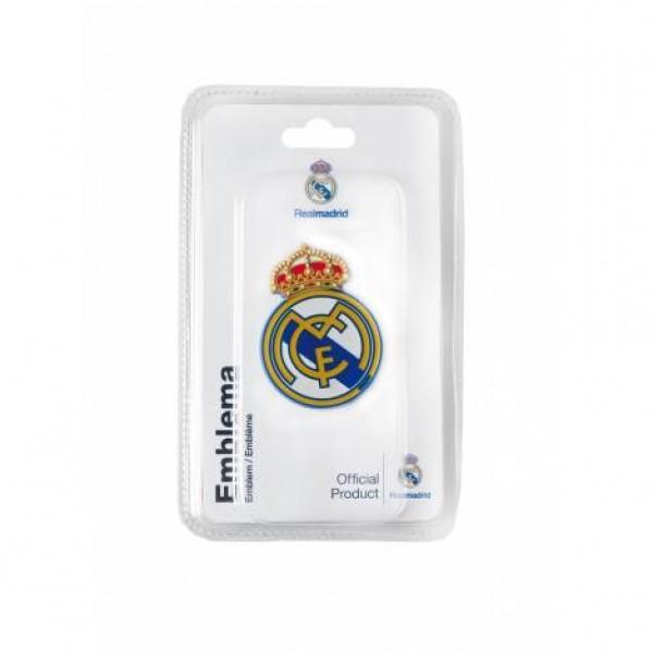 """Emblema """"escudo real madrid"""" 40x55mm"""