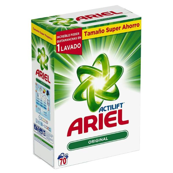 Ariel detergente Original 70 lavados