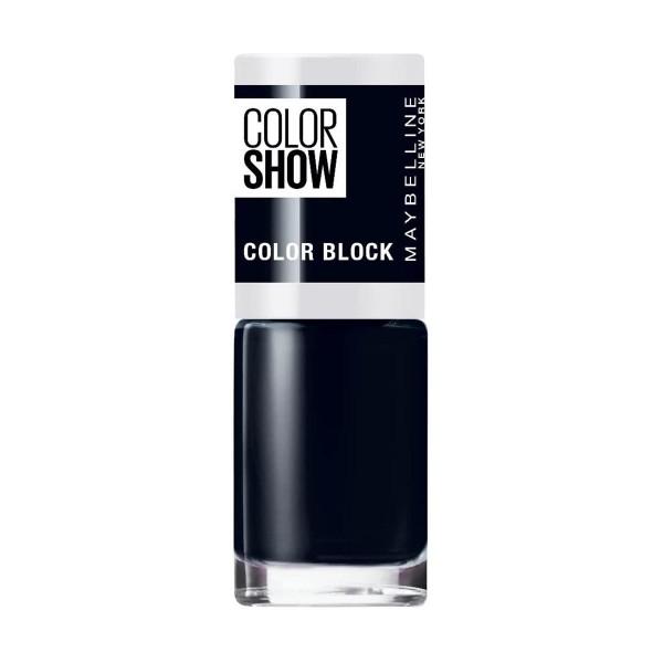 Maybelline color show laca de uñas 487 blue blocks 1ml