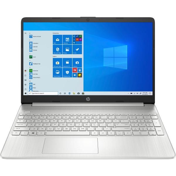 "Hp 15s portátil plata 15.6"" hd / celeron-n4020 / 8gb / 512gb ssd / windows"